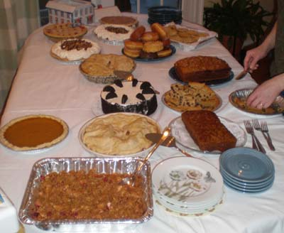 Dessert: pies and cakes and cookies, oh my!